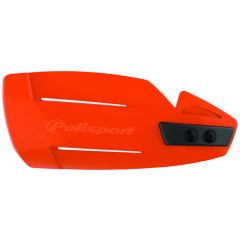 Polisport Hammer Handguards + Universal Plastic Mounting Kit Orange 16