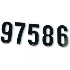 UFO Siffersats 15cm Svart, nr 0-9, 10 av varje