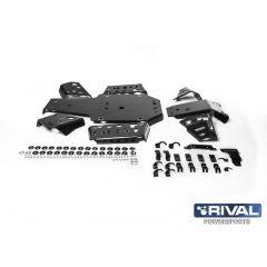 Rival Hasplåt kit plast Yamaha Grizzly 700 2016-