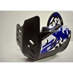 AXP Skid Plate Black Yamaha WR250F 15-19, WR450F 16-18