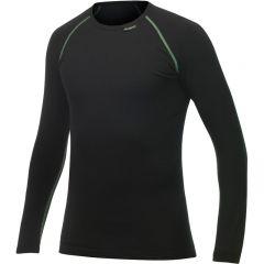 Woolpower Crewneck Merino underställ tröja svart