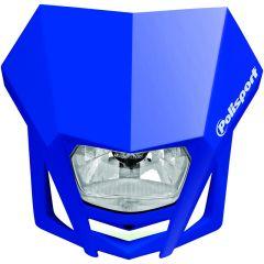 Framlampa Polisport LMX  blå