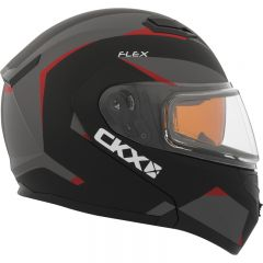 CKX Hjälm, öppningsbar Flex RSV med Elektrisk visir, Control röd