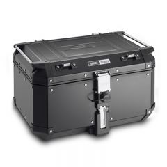 Givi Trekker Outback Restyled 58ltr blackline aluminium top case