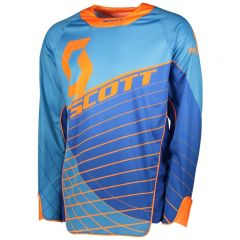 Scott Jersey Enduro blå/orange