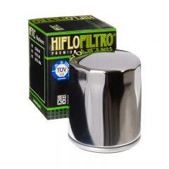 HiFlo oljefilter HF171C krom