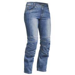 Lindstrands Jeans Wrap Dam Blå