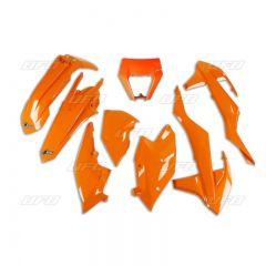 UFO Plastkit 6-delar Orange 127 KTM EXC/EXC-F 125-450 17-19