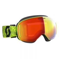 Scott Goggle LCG Evo Snow Cross yellow enhancer red chrome