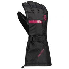 SCOTT Handske Roop svart/pink