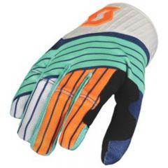 Scott  Handske 450 Podium blå/orange