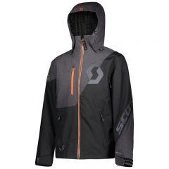 SCOTT Jacket Move Dryo melange grå/svart