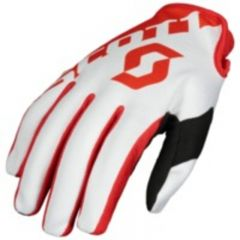Scott Handske 250 röd/vit