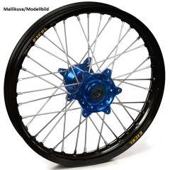 Haan wheel YZ65 18- /YZ85 93- 14-1,60 REAR BLUE HUB/BLACK RIM