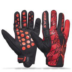 Sweep Freeride, neoprene Handske, röd/svart