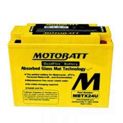 MOTOBATT batteri MBTX24U Factory sealed