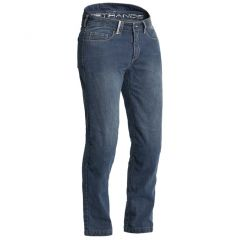 Lindstrands Jeans Macan Blå Korta ben