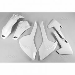 UFO Plastkit 4-delar HVA TE/FE 125-501 2017-19  Vit 041