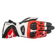 Alpinestars Handske Supertech svart/vit/röd