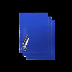 Blackbird Klisterark  blå 47x33cm (3st)