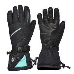 Sweep Snow Queen 2.0 ladies handske svart/mintgrön