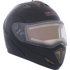 CKX Hjälm TRANZ E med elektrisk visir Matt svart