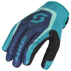 Scott  Handske 350 Dirt blå/blå