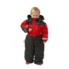 SnowPeople Safari barn overall röd/svart