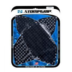 Stompgrip Street Bike Tank Grips - Volcano - 0075 : Black