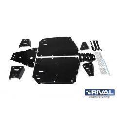 Rival Hasplåt kit plast Polaris Ranger XP 1000 2018-19