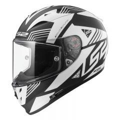 LS2 Hjälm FF323 ARROW Neon svart/ vit