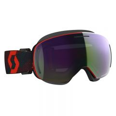 Scott Goggle LCG Evo Snow Cross red/blue nights enhancer green chrome