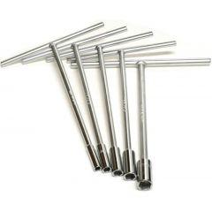 Hyper T-tool set  8-10-12-13-14-17-19 mm