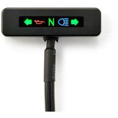 Daytona Beta cnc micro led indicator, black