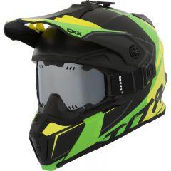 CKX Hjälm + goggle Titan Cliff gul/grön