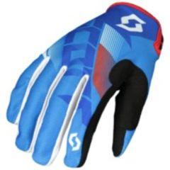 Scott Handske 350 Dirt blå/vit