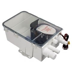 Gråvatten box med pump 12v