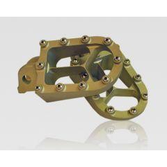 TALON Fotpinnar X8 YZ/YZF/WR 99- silver GAS 07-18