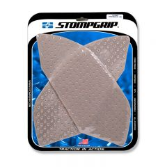 Stompgrip Street Bike Tank Grips - Volcano - 0075 : Clear