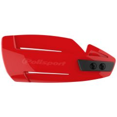 Polisport Hammer Handguards + Universal Plastic Mounting Kit Red cr04
