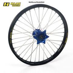 Haan wheel YZ65 18- 17-1,40 BLUE HUB/BLACK RIM