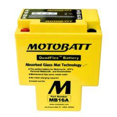 MOTOBATT batteri MB16A Factory sealed