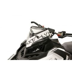 Skinz Next Level Vindrute Väska Svart/Vit 2015- Polaris Axys