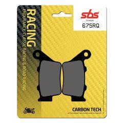 *Sbs Bromsklossats Carbon Tech bak