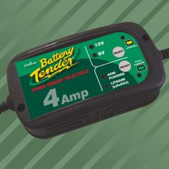 Battery Tender Power Tender 6V/12V 4 A lead acid/Lithium Batteriladdare