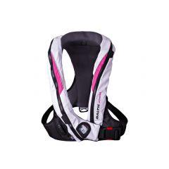 Baltic Athena 165 auto inflatable lifejacket white/pink 40-120kg