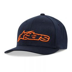 Alpinestars Blaze Flexfit keps, blå/orange S/M