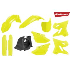 Plastkit Polisport Restyling kit YZ125/250 02-17 Flo yellow