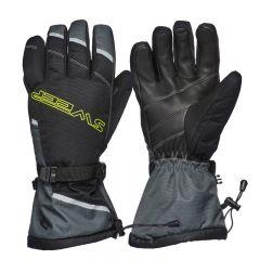 Sweep Blower handske, svart/grå/gul