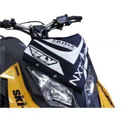 Skinz Next Level Vindrute Väska svart/vit 2013- Ski Doo XM/XS